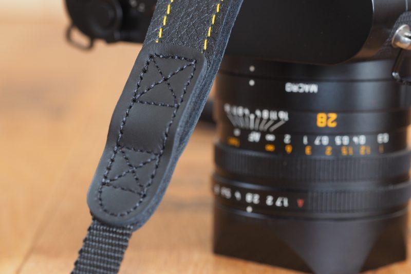 3378 schwarz/schwarz EDDYCAM KN gelb mit Leica Q2