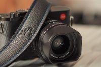 3379 schwarz/schwarz EDDYCAM KN blau mit Leica Q2